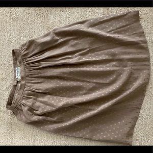 Vintage Christian Dior Silk Skirt